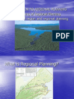 (1) Introduction to Regional Planning