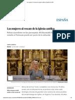 Las Mujeres Al Rescate de La Iglesia Católica _ España _ EL PAÍS