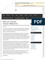 Practical Idealism – English Translation