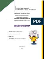 Conductimetría