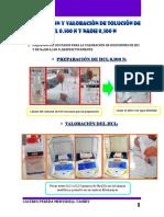 Preparación y Valoración de Solución de Hcl 0