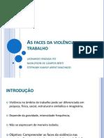 As Faces Da Violencia No Trabalho- PsicologiaUTFPR