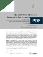 ILF e Formação de Professores-Gimenez 2015