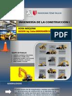 Construcción i - Hora Máquina