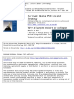 WALT - Why Alliances Endure or Collapse