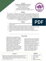 Informe N#1 Lab Quimica Universidad Tecnológica de Panamá