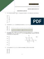 MA27E Ejercicios - Ecuación de la Recta.pdf
