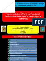 Implementation of NVQ Level 5 6