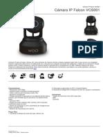 Cmara IP Falcon VCS001