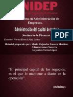 Administracion del capital de trabajo.ppt