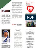 Brochur Mision y Vision
