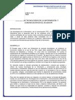 Uso de Las Tics en Ecuador Bygomex