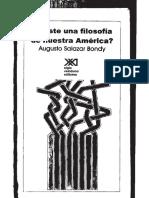 Existe Una Filosofía de Nuestra América-Augusto Salazar Bondy-1968-Libro.pdf