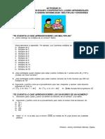 ACTIVIDAD 01 Multiplos y Divisores
