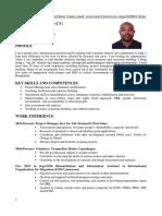 SenjoYange CV Updated