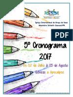 5ºcronograma 2017