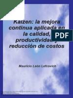 Kaizen_ La Mejora Continua Aplicada en La Calidad, Productividad y Reducción de Costos