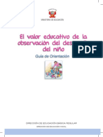 El Valor Educativo de La Observación Del Desarrollo Del Niño Guía de Orientación