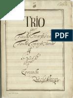 Quantz - Trio a 2 Fl e Basso