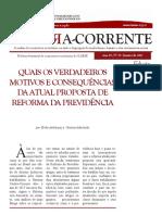 BCC 70 - Reforma Previdencia - JAN 17