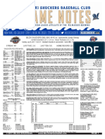 7.9.17 at JAX Game Notes