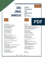 Coloquio Barroco Programação