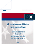 DoD Government Purchase Card Directives Session Denise Reich 2014.07.29