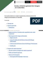 Www Gestiopolis Com Salud Ocupacional Sistema General Riesgo