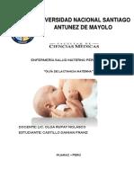 Guia de Procedimiento de Lactancia Materna Exclusiva