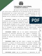 Ley No. 630-16 Ley Organica de la Cancillería Dominicana