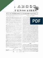 El Argos de Buenos Aires, 1822, t. 1 Nro 12