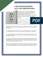 Tipos de Tomacorrientes Eléctricos y Sus Aplicaciones