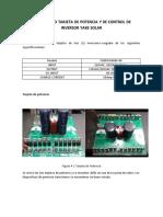 Diagnostico Tarjeta de Potencia y de Control de Inversor Yake Solar