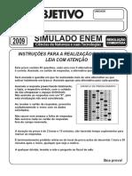 Simulado Objetivo Ciências Da Natureza e Suas Tecnologias 2009 Resolução Comentada