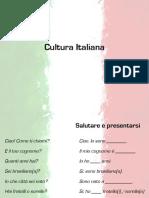 Aula Cultura Italiana
