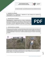 Ficha Linea de Conduccion Huancapucro - San Juan