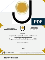 PROYECTO UNNE en EL MEDIO 2016 - Programa Cultura de Pueblos Originarios