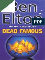 Dead Famous Ben Elton