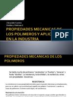 Propiedades Mecanicas de Los Polimeros y Aplicaciones En