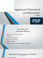 Transparencia Y Derecho a La Información