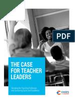 The Case for Teacher Leaders