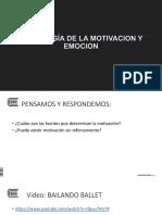 07 Sesion_ Psicologia de La Motivacion y Emocion