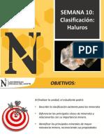 Semana10 - Clasificacion de Minerales Parte4 - 2017-1