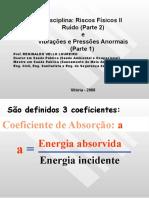 APOSTILA Riscos Fisicos II - Ruído e Vibrações