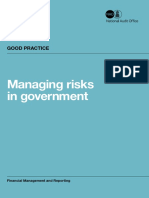 Managing Risks in Government