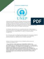 Convenios y Protocolos Ambientales