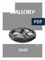 Manual Grill Solaris Mallory