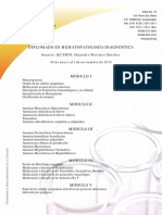 Diplomado Hematopatologia Diagnostica
