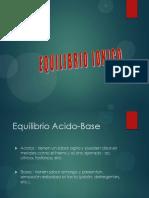 EQUILIBRIO IONICO 2015