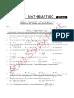 DPP 8 Prograssions-1 Arithmetic Progression Definition, Nth Term Arithmetic Means Sum of Finite Terms